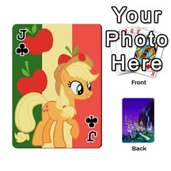 Jack Mlp 1 By Raymond Zhuang   Playing Cards 54 Designs   5hlbciumqjgt   Www Artscow Com Front - ClubJ