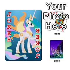 Mlp 1 By Raymond Zhuang   Playing Cards 54 Designs   5hlbciumqjgt   Www Artscow Com Front - Joker2