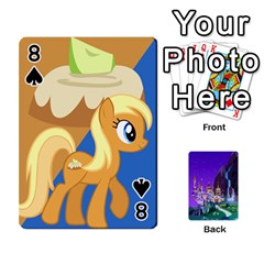 Mlp 1 By Raymond Zhuang   Playing Cards 54 Designs   5hlbciumqjgt   Www Artscow Com Front - Spade8