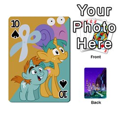 Mlp 1 By Raymond Zhuang   Playing Cards 54 Designs   5hlbciumqjgt   Www Artscow Com Front - Spade10