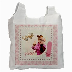 Happy Mothers Day By Joely   Recycle Bag (two Side)   H49ush7us8lx   Www Artscow Com Front
