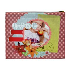 Love By Joely   Cosmetic Bag (xl)   Yo0h7fi5r1s1   Www Artscow Com Back