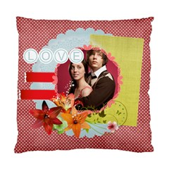 Love By Joely   Standard Cushion Case (two Sides)   8b2phoh0x0gk   Www Artscow Com Front