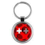 Switzerland Key Chain (Round)
