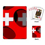 Switzerland Playing Cards Single Design