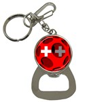 Switzerland Bottle Opener Key Chain