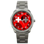Switzerland Sport Metal Watch