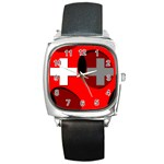 Switzerland Square Metal Watch