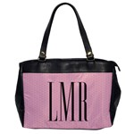Monogram Handbag - Oversize Office Handbag