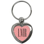 Monogram Keychain - Key Chain (Heart)