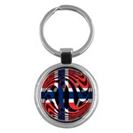 Norway Key Chain (Round)
