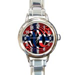 Norway Round Italian Charm Watch