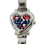 Norway Heart Italian Charm Watch