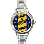 Barbados Round Italian Charm Watch