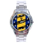 Barbados Stainless Steel Analogue Men's Watch