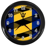 Barbados Wall Clock (Black)