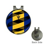 Barbados Golf Ball Marker Hat Clip