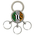 Ireland 3-Ring Key Chain