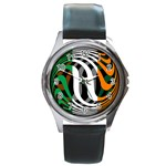 Ireland Round Metal Watch