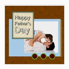 Fathers Day By Joely   Medium Glasses Cloth (2 Sides)   T7acf9dsul8p   Www Artscow Com Front