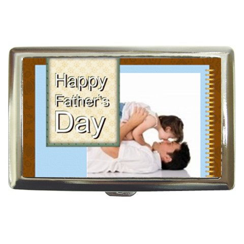 Fathers Day By Joely   Cigarette Money Case   U9yqkqnqvt5v   Www Artscow Com Front