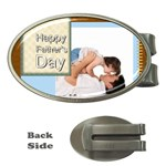 fathers day - Money Clip (Oval)