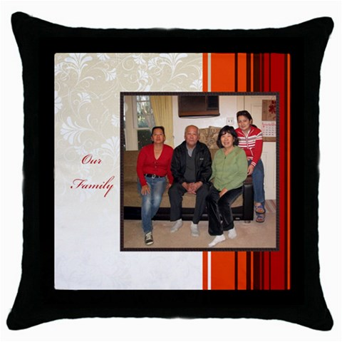 Mhelan1 By Bernadette Simon Villaverde   Throw Pillow Case (black)   Pkw87526s3r5   Www Artscow Com Front