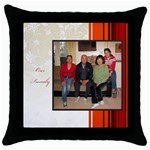 mhelan1 - Throw Pillow Case (Black)