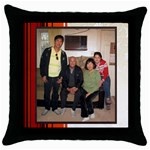 mhelan2 - Throw Pillow Case (Black)