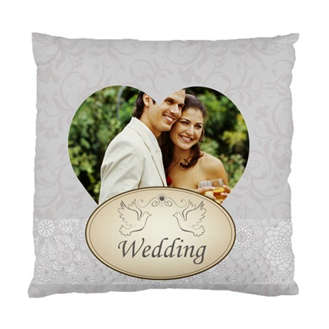 Wedding By Joely   Standard Cushion Case (one Side)   8t4ysjd56x4f   Www Artscow Com Front