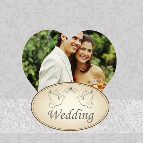 Wedding By Joely   Scrapbook Page 8  X 8    Mx5ccvlrg0kp   Www Artscow Com 8 x8 Scrapbook Page - 1
