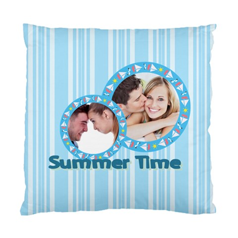 Summer Time By May   Standard Cushion Case (one Side)   Diktzmztunsb   Www Artscow Com Front