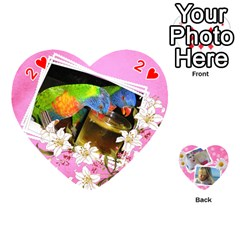 Happy Girl 54 Playing Cards (heart) By Deborah   Playing Cards 54 (heart)   U4yo9e3epio8   Www Artscow Com Front - Heart2
