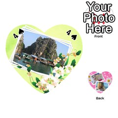 Happy Girl 54 Playing Cards (heart) By Deborah   Playing Cards 54 (heart)   U4yo9e3epio8   Www Artscow Com Front - Spade4