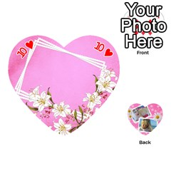 Happy Girl 54 Playing Cards (heart) By Deborah   Playing Cards 54 (heart)   U4yo9e3epio8   Www Artscow Com Front - Heart10