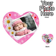 Happy Girl 54 Playing Cards (heart) By Deborah   Playing Cards 54 (heart)   U4yo9e3epio8   Www Artscow Com Front - Diamond2