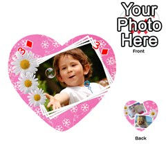 Happy Girl 54 Playing Cards (heart) By Deborah   Playing Cards 54 (heart)   U4yo9e3epio8   Www Artscow Com Front - Diamond3