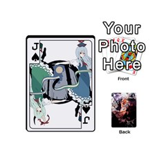 Jack Touhou Mini Pcg By K Kaze   Playing Cards 54 (mini)   7cm27alfbw2a   Www Artscow Com Front - SpadeJ