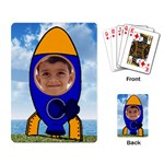Space Rocket Playing Cards - Playing Cards Single Design