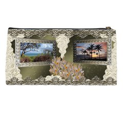 Maui 2012 Shadow Frame Neutral Pencil Case By Ellan   Pencil Case   Rud3sytko1nf   Www Artscow Com Back
