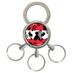 Austria 3-Ring Key Chain