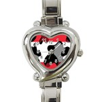 Austria Heart Italian Charm Watch