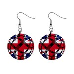 United Kingdom 1  Button Earrings