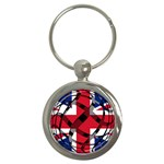 United Kingdom Key Chain (Round)