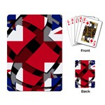 United Kingdom Playing Cards Single Design