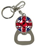 United Kingdom Bottle Opener Key Chain