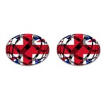 United Kingdom Cufflinks (Oval)