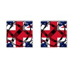 United Kingdom Cufflinks (Square)