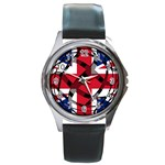 United Kingdom Round Metal Watch