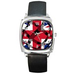 United Kingdom Square Metal Watch